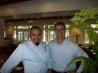 Chef Armando Navarro, GM Treg Finney at El Dorado Kitchen, Sonoma, Calif., USA