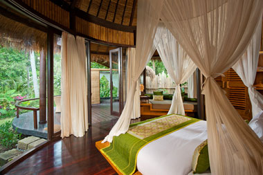 Guest suite, Fivelements in Banjar Baturning, Mambal, Bali, Indonesia