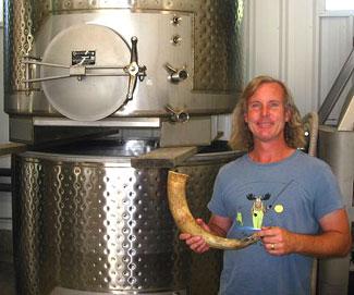 Bill Steele, Cow Horn Vineyard in Applegate Valley, Ore., USA