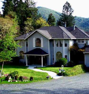 Flery Manor B&B near Grants Pass, Oregon, USA