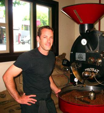 Jared Rennie, Noble Coffee in Ashland, Ore., USA