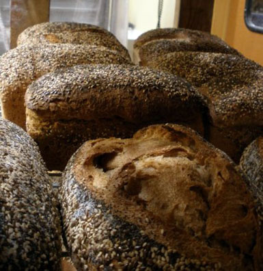 Whole wheat sourdough, Rise Up! Artisan Bread in Applegate Valley, Ore, USA