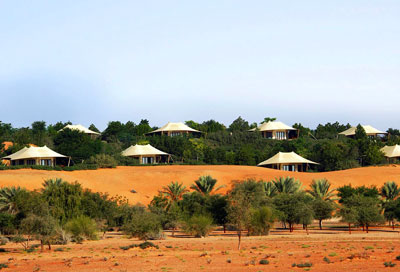 Al Maha Desert Resort in the Dubai Desert Conservation Reserve, Dubai
