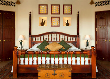 Guestroom, Al Maha Desert Resort in the Dubai Desert Conservation Reserve, Dubai