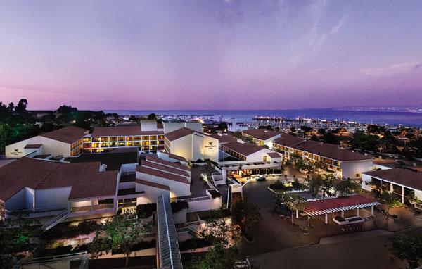 Portola Hotel & Spa in Monterey, Calif., USA