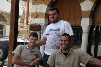Ehden Adventures crew in Ehden, Lebanon
