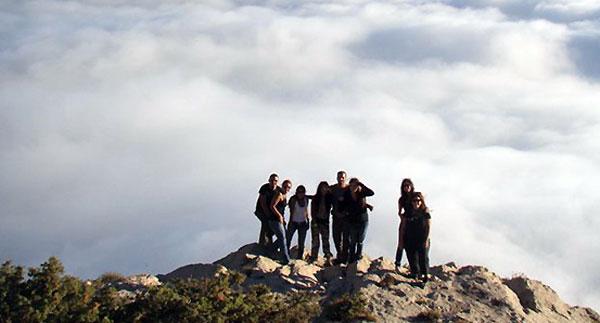 Ehden Adventures rock climb in Horsh Ehden Nature Preserve, Lebanon