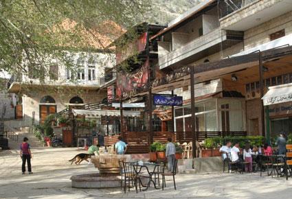 Al Middan Square in Ehden, Lebanon