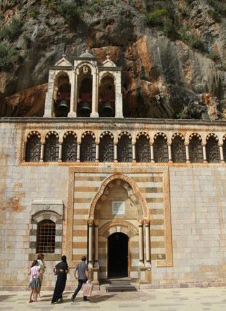 St Antonios Kazhaya Church near Ehden, Lebanon