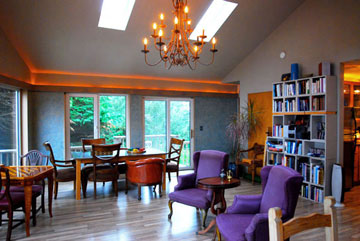 Guesthall, WildSpring Guest Habitat in Port Orford, Ore., USA