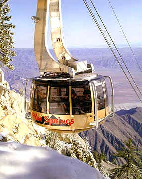 Aerial Tramway in Palm Springs, Calif., USA