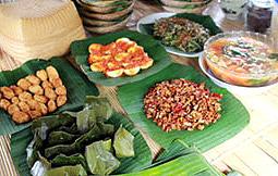 organic meal, OMunity in Suraji, Bali, Indonesia