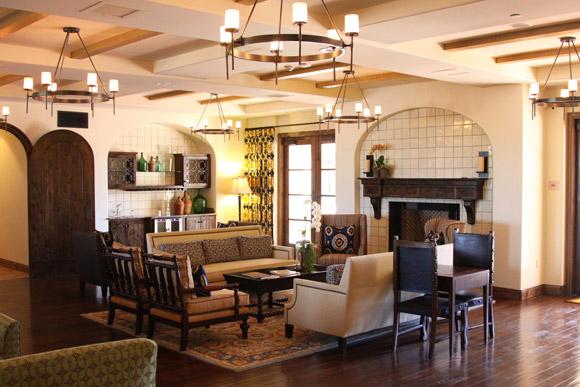 Lobby, Ponte Vineyard Inn in Temecula, Calif., USA