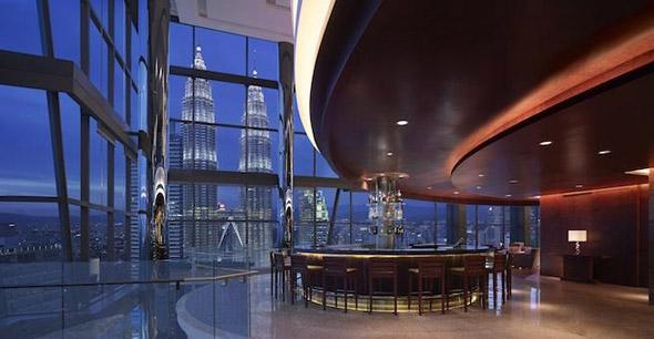 Sleeping around in exo-luxe Kuala Lumpur - Thirty8 bar, Grand Hyatt