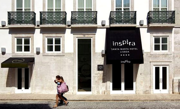 Letting Lisbon happen at the eco-friendly Inspira Santa Marta hotel