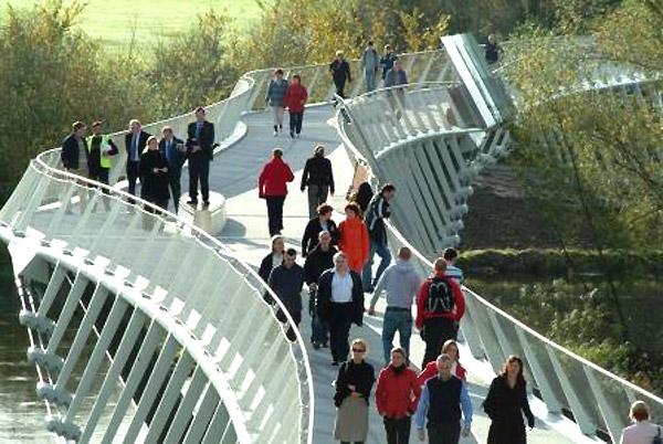 Living Bridge at University of Limerick - Limerick, Ireland