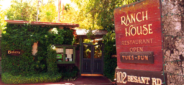 The Ranch House - near Ojai, Calif., USA