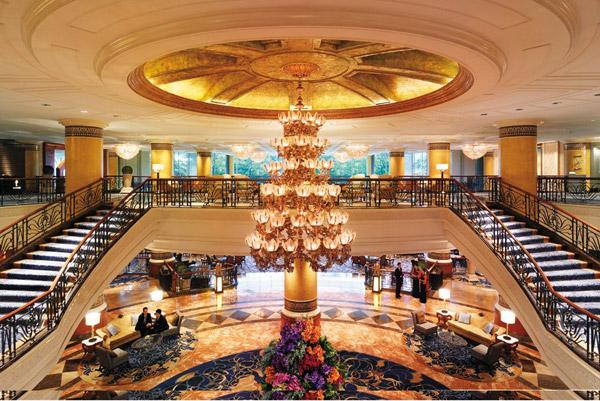 Lobby, Makati Shangri-La - Manila, Philippines