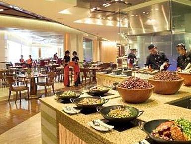 Restaurant, Makati Shangri-La - Manila, Philippines
