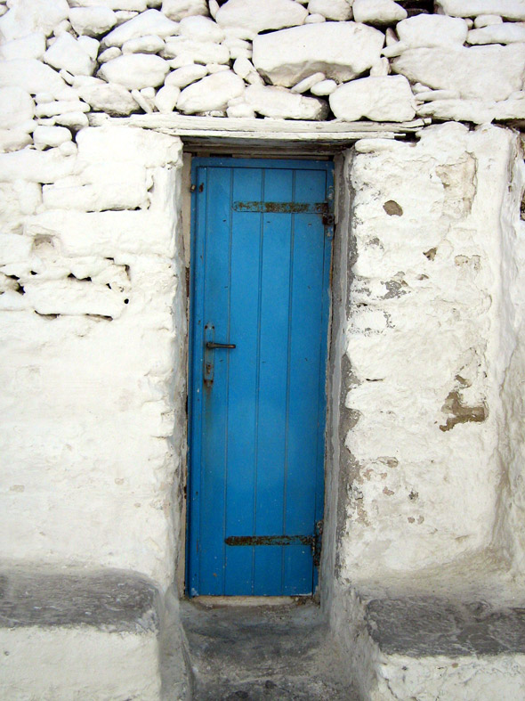Door, Mykonos Town - Mykonos, Greece