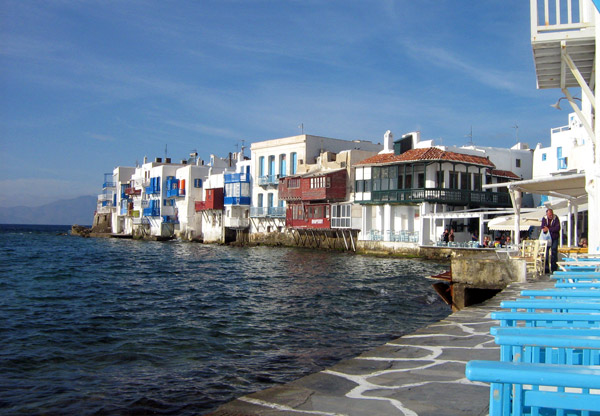 Waterfront, Mykonos Town - Mykonos, Greece