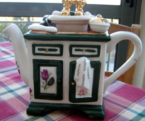Teapot at Eleonas Agrotouristic Hotel - Evia, Greece