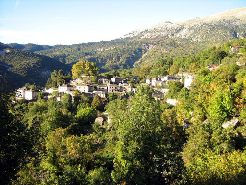 Mikro Papigo - Pindus Mountains in the Zagori region, Greece