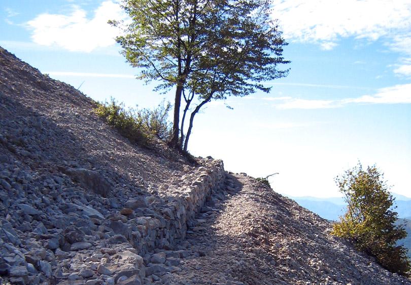 Path to Vikos Gorge, Pindus Mountains, near Mikro Papigo - Zagori region, Greece