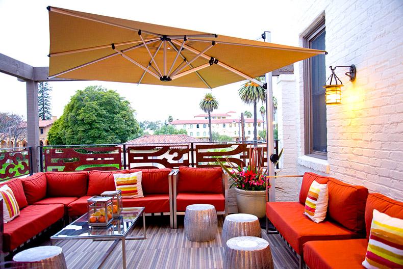 Lounge, Hotel Indigo Santa Barbara - Santa Barbara, Calif., USA