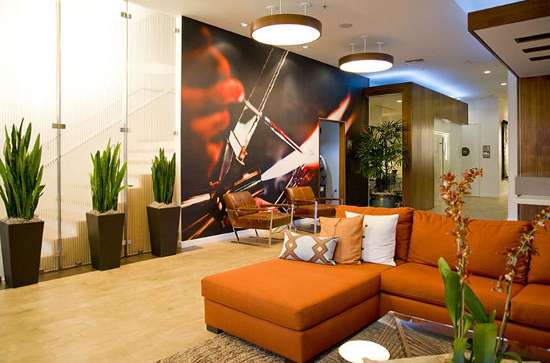 Hotel Indigo lobby - Santa Barbara, Calif., USA
