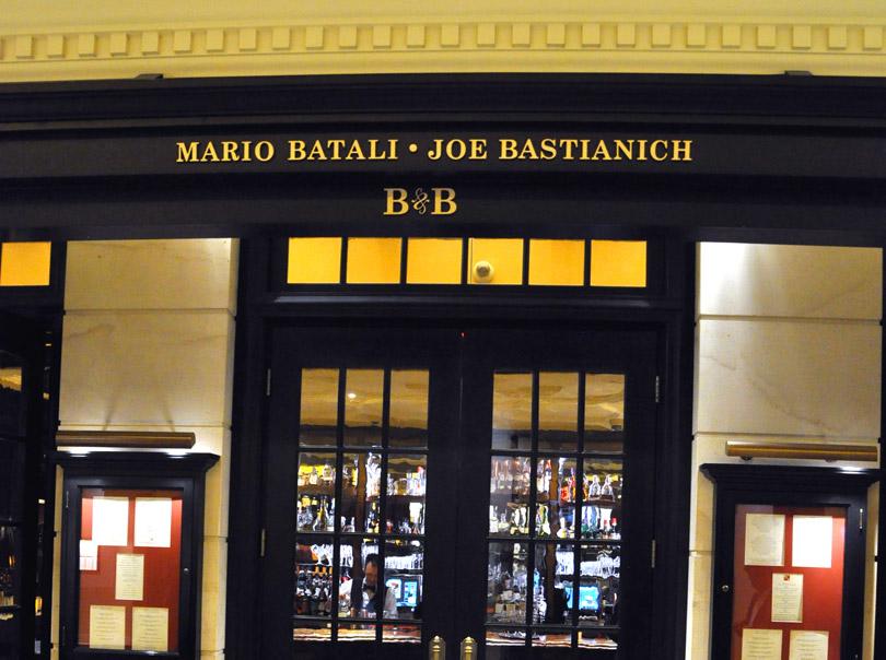 B&B Ristorante, The Venetian - Las Vegas, Nev., USA