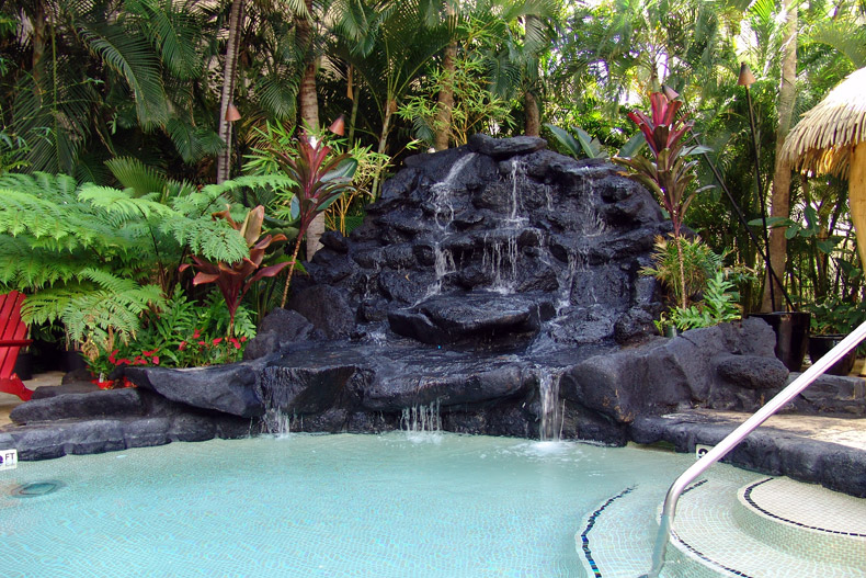 Outer Sanctuary Pool Aqua Bamboo Hotel Waikiki Honolulu Hawaii Usa