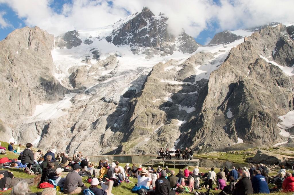 Mountain stage, Festival Messiaen - Pays de la Meije, France