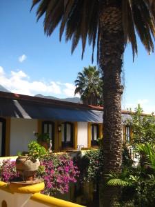 Exterior of Hotel Hacienda Los Laureles - Oaxaca, Mexico
