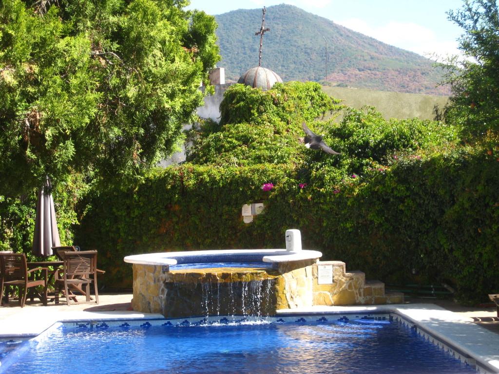Pool at Hotel Hacienda Los Laureles - Oaxaca, Mexico