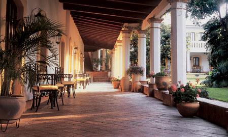 Hotel Hacienda Los Laureles - Oaxaca, Mexico