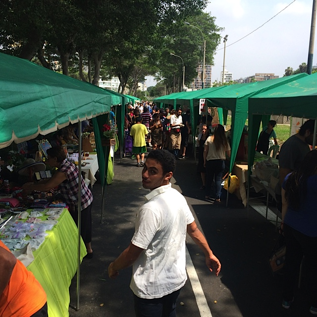 Organic market - Barranco, Lima, Peru