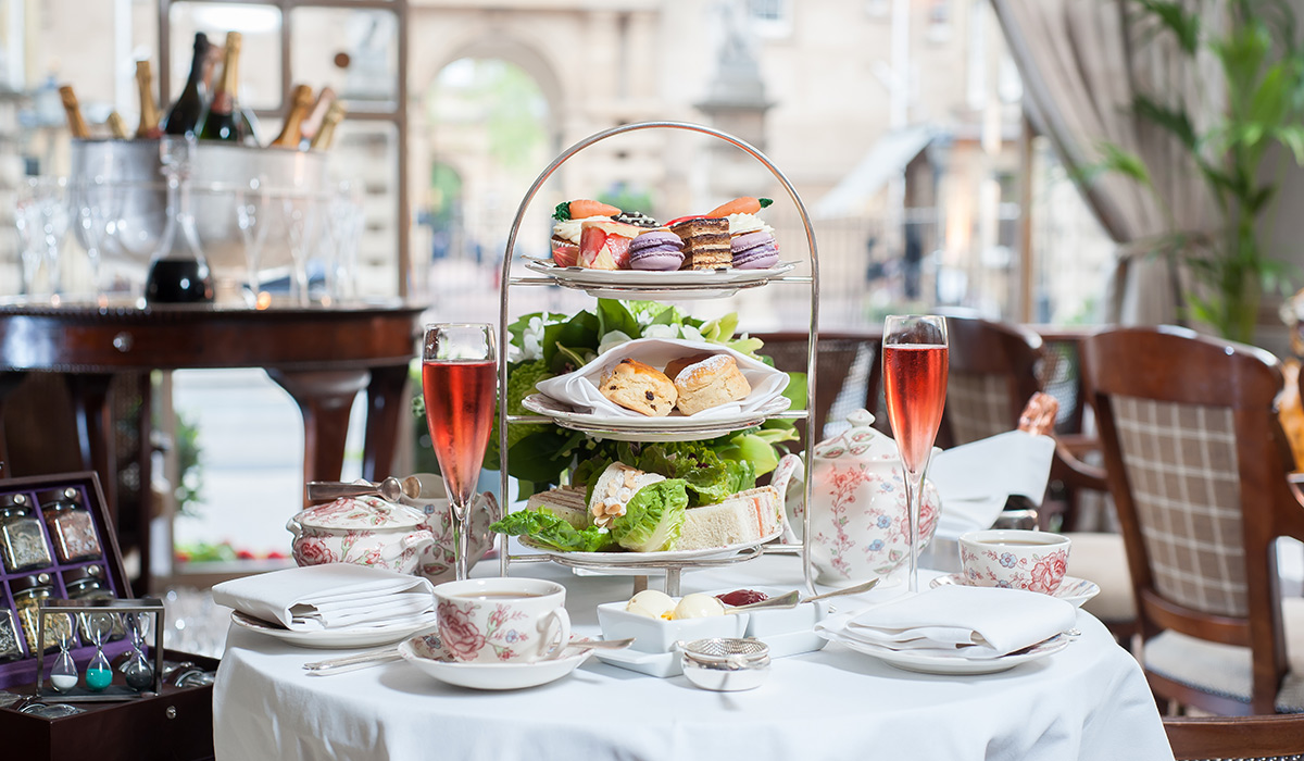 Afternoon tea at the Rubens at the Palace Hotel - London, UK