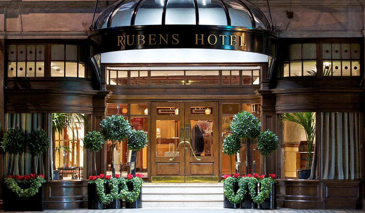Rubens at the Palace Hotel - central London, UK