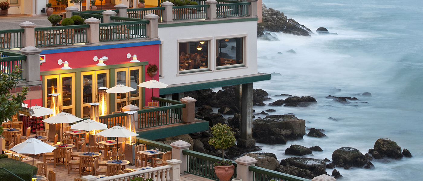 Schooners exterior, Monterey Plaza Hotel and Spa - Monterey, Calif., USA