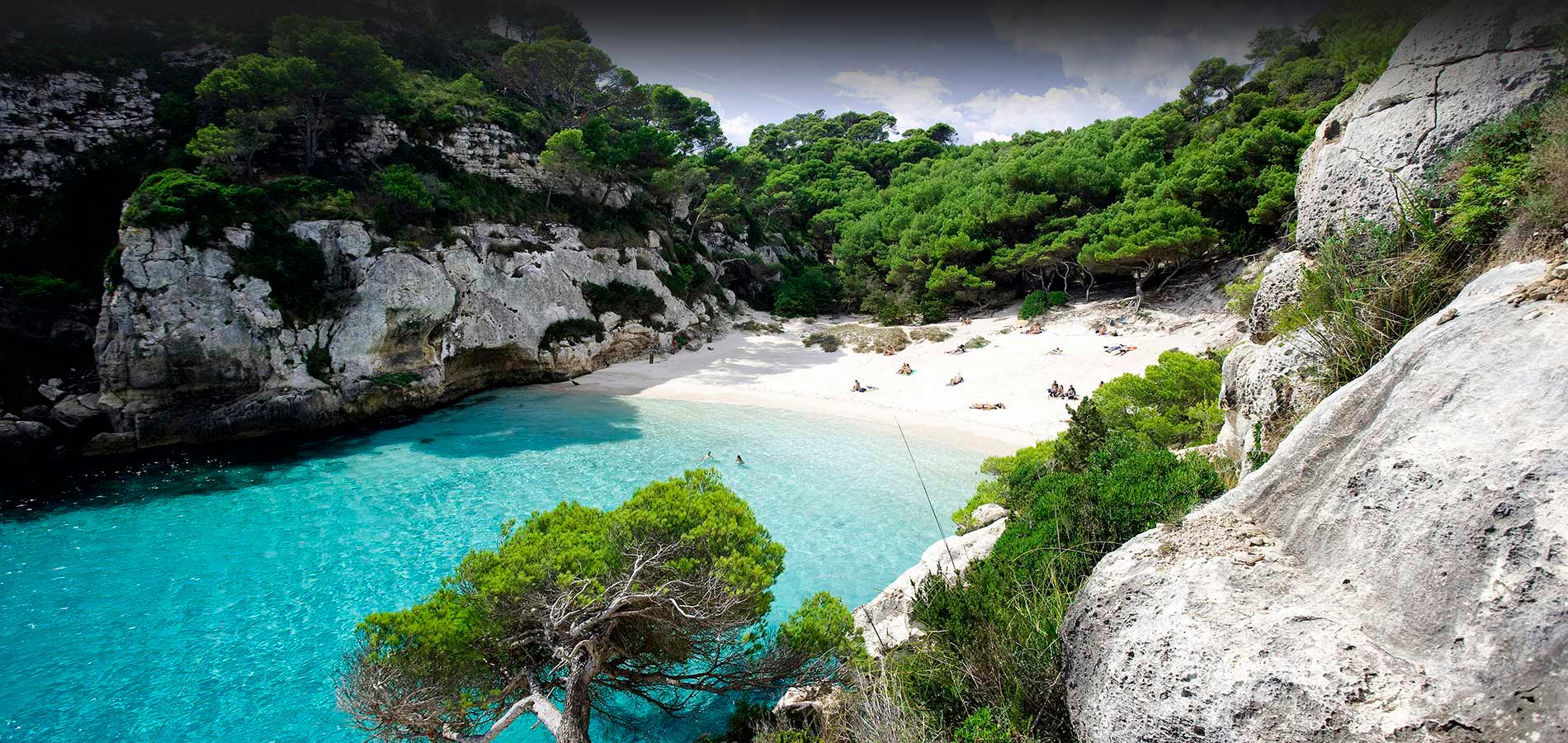 Macarelleta beach, Menorca, Balearic Islands